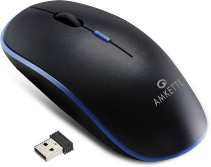AMKETTE HushPro Air Slim and Silent Wireless Optical Mouse