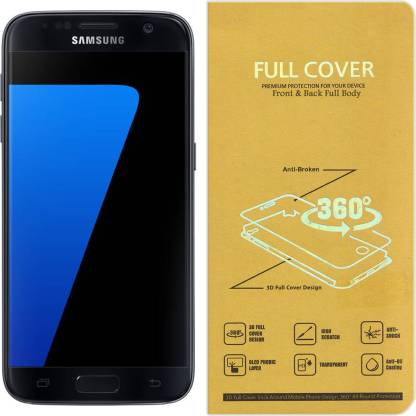 Roxel Front and Back Screen Guard for Samsung Galaxy S6 Edge