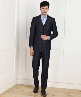3 Piece Suit Self Design Men Suit