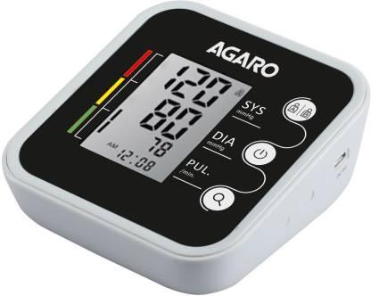 AGARO Automatic Digital Blood Pressure Monitor (Includes Carry Bag & Batteries)/ bp-501 Bp Monitor
