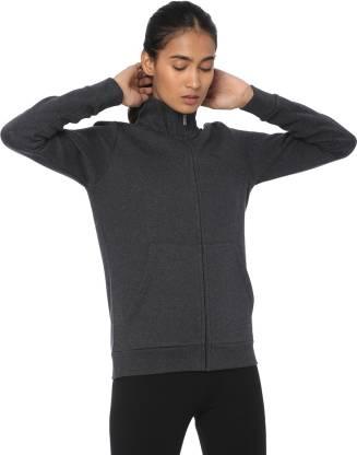 Puma Full Sleeve Self Design Women Jacket