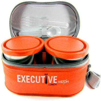 MILTON Executive Lunch 3 Containers Lunch Box