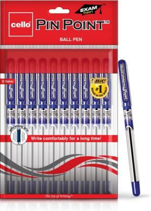 cello Pinpoint Blue Ball Pen