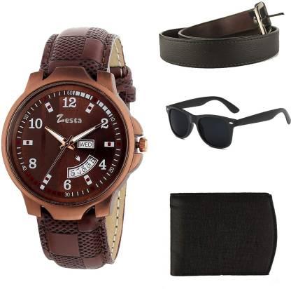 Zesta Belt, Wallet & Watch Combo Combo