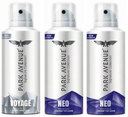 PARK AVENUE neo , voyage Deodorant Spray  -  For Men