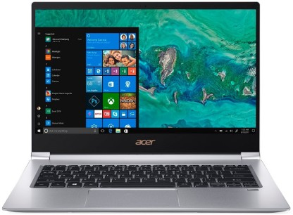 Acer Swift 3 Core i5 8th Gen - (8 GB/512 GB SSD/Windows 10 Home/2 GB Graphics) SF314-55G Thin and Light Laptop (14 inch, Sparkly Silver, 1.35 kg)