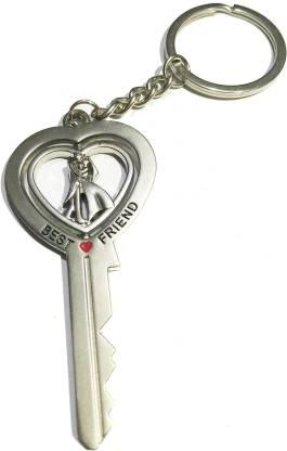 Prime Keychain Fancy Metal Key with Friend Couple Romans Key cahin VA Key Chain