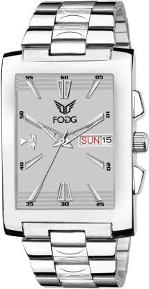 Fogg 2078-GR Grey Day and Date Unique New Analog Watch - For Men