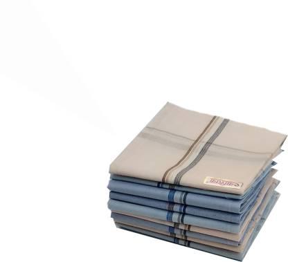 """Your's Favourite Full Size (48*48cm) Supremo Men's Cotton Colour Handkercheif -10 [""""colorfull""""] Handkerchief"""