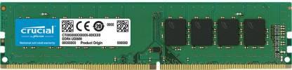 Crucial CT4G4DFS824A 4GB DDR4 Dual Channel PC RAM
