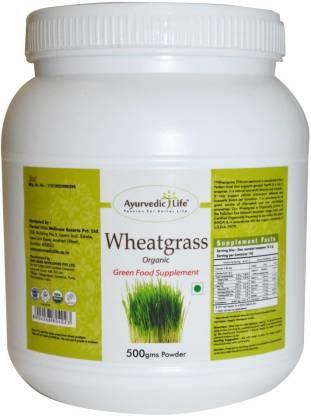 Ayurvedic Life Wheatgrass 500gms Powder