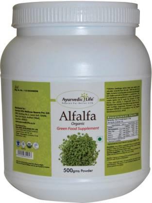 Ayurvedic Life Alfalfa 500 gm Powder