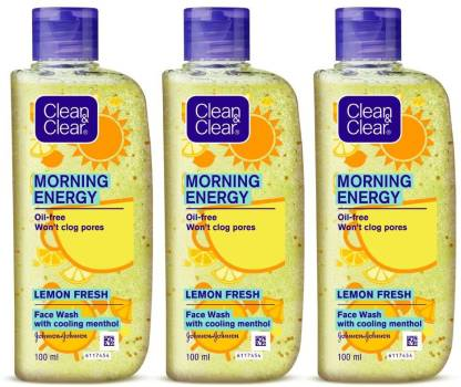 Flipkart - Flipkart: Clean & Clear Morning Energy Lemon Fresh Face Wash  (300 ml)
