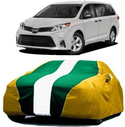 HDSERVICES Car Cover For Toyota Sienna (With Mirror Pockets)