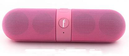VibeX Vibex Speaker 047 3 W Portable Bluetooth Home Audio Speaker Pink, Mono Channel  VibeX Speakers