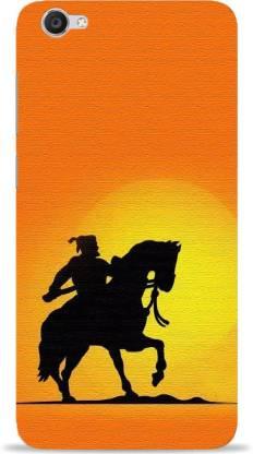 NDCOM Back Cover for Vivo V5 Plus Chatrapati Shivaji Maharaj Printed