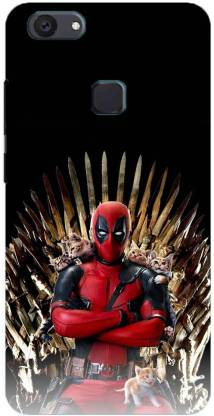 NDCOM Back Cover for VIVO Y83 Deadpool Game of Thrones Printed