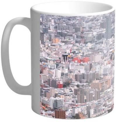 Arkist sapporo winter wallpaper Ceramic Coffee Mug