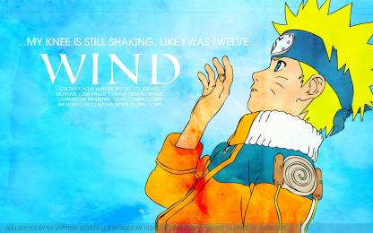 Athah Anime Naruto Akeboshi Sad Naruto Uzumaki 13 19 Inches Wall Poster Matte Finish Paper Print Animation Cartoons Posters In India Buy Art Film Design Movie Music Nature And Educational