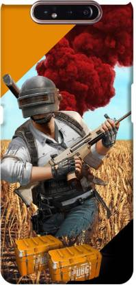 PNBEE Back Cover for Samsung Galaxy A80, SM-A805F - PubG Hero Print Mobile Case Cover