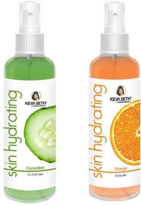 KEYA SETHS AROMATHERAPY Skin Hydrating Cucumber & Orange Toner Men & Women