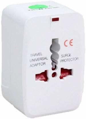 Hopeberry Universal World Wide Travel Charger Adapter Plug for Us Uk Eu Au (White) Worldwide Adaptor