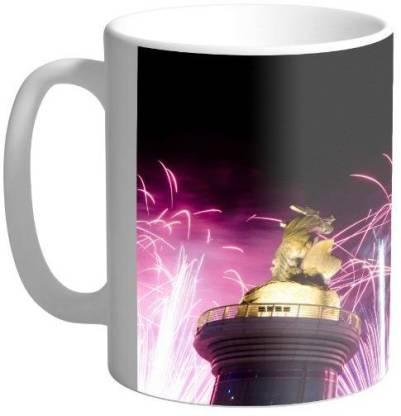 Arkist fireworks in kaohsiung wallpaper Ceramic Coffee Mug