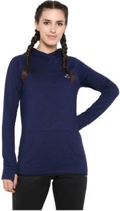 Alcis Full Sleeve Solid Women Sweatshirt