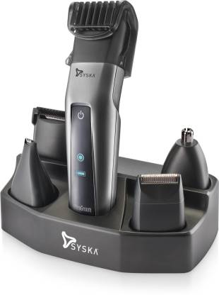 Syska HT3052K/02 Runtime: 50 min Trimmer for Men