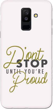 Dicty Back Cover for Samsung Galaxy A9 Star Lite