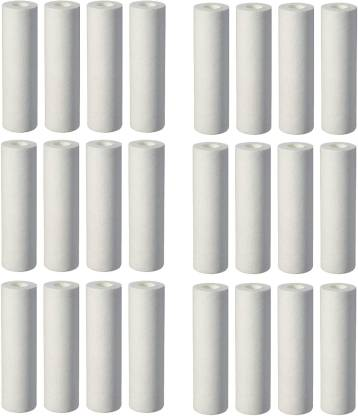 """Anveeras 5 10"""" for All Types of Water Purifier (Pack of 24) Solid Filter Cartridge"""