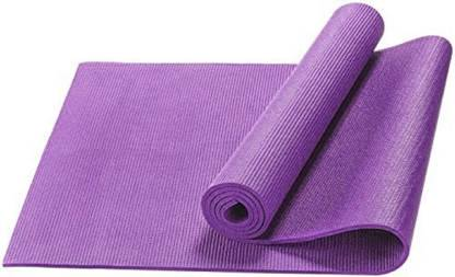 ASC Premium Quality Yoga Mat PVC Yoga Mat for Exercise and Meditation (173 x 61 Cm ) (3 MM, Purple) Purple 3 mm Yoga Mat