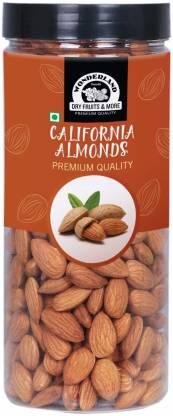 WONDERLAND Foods Premium Raw California Almonds