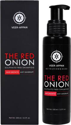 VEER-APPAN The Red onion Sulphate free Shampoo for Hair Growth