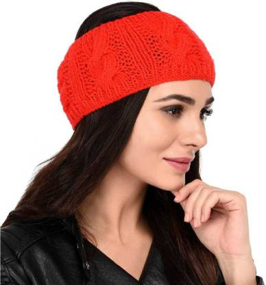 Solid Woolen Headband Earwarmer Earmuff Cap Cap