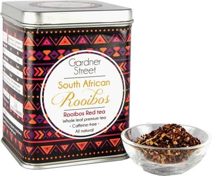 Gardner Street South African Rooibos Vanilla Herbal Infusion Tin
