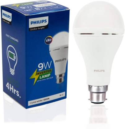 Philips 9 W Standard B22 Inverter Bulb