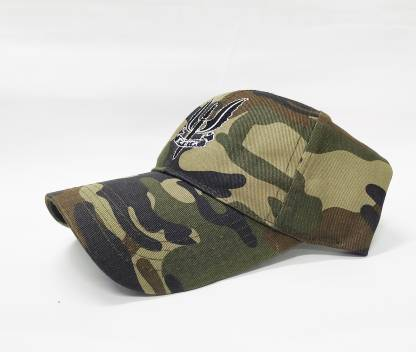 Evanden Embroidered balidhan, military, army cap Cap