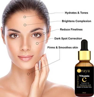 Oraya Vitamin C Face Serum For Skin Brightening, Skin Toning & Anti Ageing