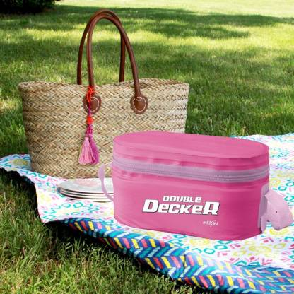 MILTON Double Decker 3 Containers Lunch Box