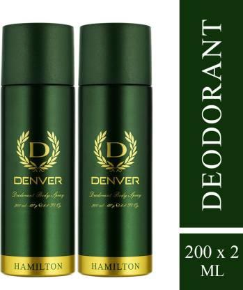 DENVER Hamilton Deodorant Deodorant Spray  -  For Men