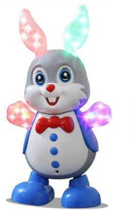 OBLETTER TRADE Dancing Rabbit with Music Flashing Lights and Real Dancing Action