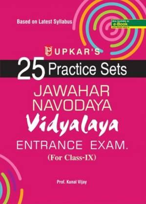 25 Practice Sets Jawahar Navodaya Vidhalaya Entrance Examination (For Class 9)