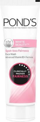 PONDS White Beauty Spot Less Fairness  Face Wash