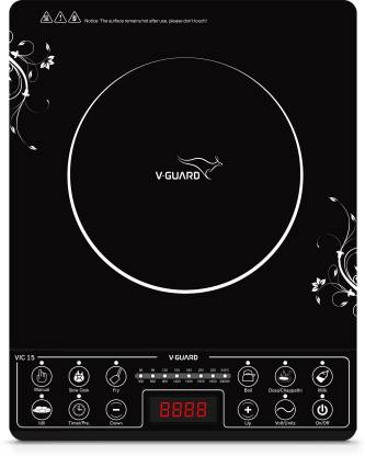 V-Guard VIC 15 (2000 W) Induction Cooktop