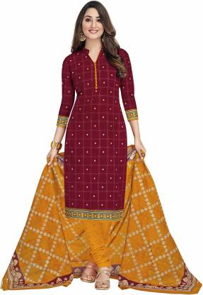 Miraan Cotton Printed Salwar Suit Material