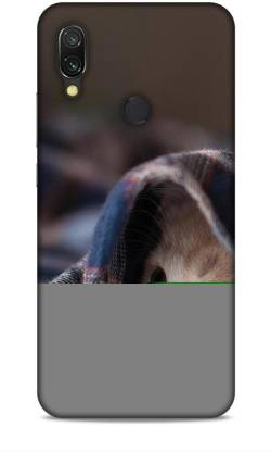 HEMKING Back Cover for Redmi 7 (M1810F6LE) Cat Printed