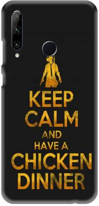 PNBEE Back Cover for Honor 20i, HRY-TL00T- PubG Print Mobile Case Cover