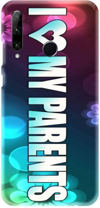 PNBEE Back Cover for Honor 20 lite, HRY-LX1T, Honor 10i- I Love My Parents Print Mobile Case Cover