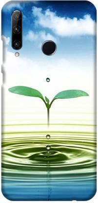 PNBEE Back Cover for Honor 20i, HRY-TL00T- Leaf Print Mobile Case Cover